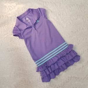 Lavender and Aqua Adidas Dress